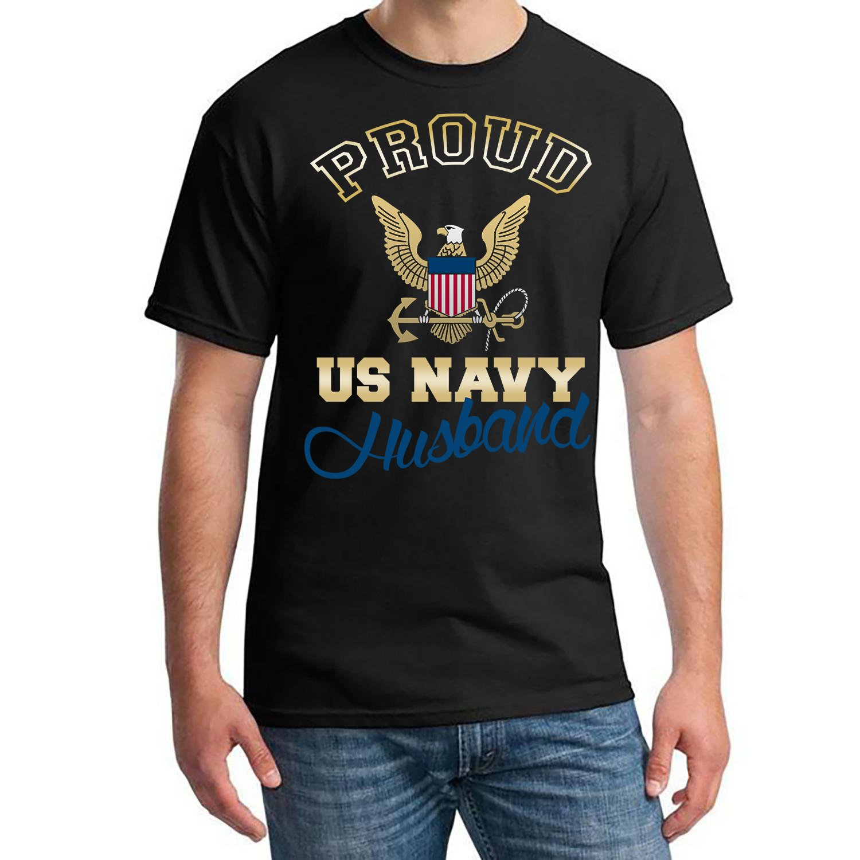 US Navy Husband, Proud Us Navy Husband Shirt