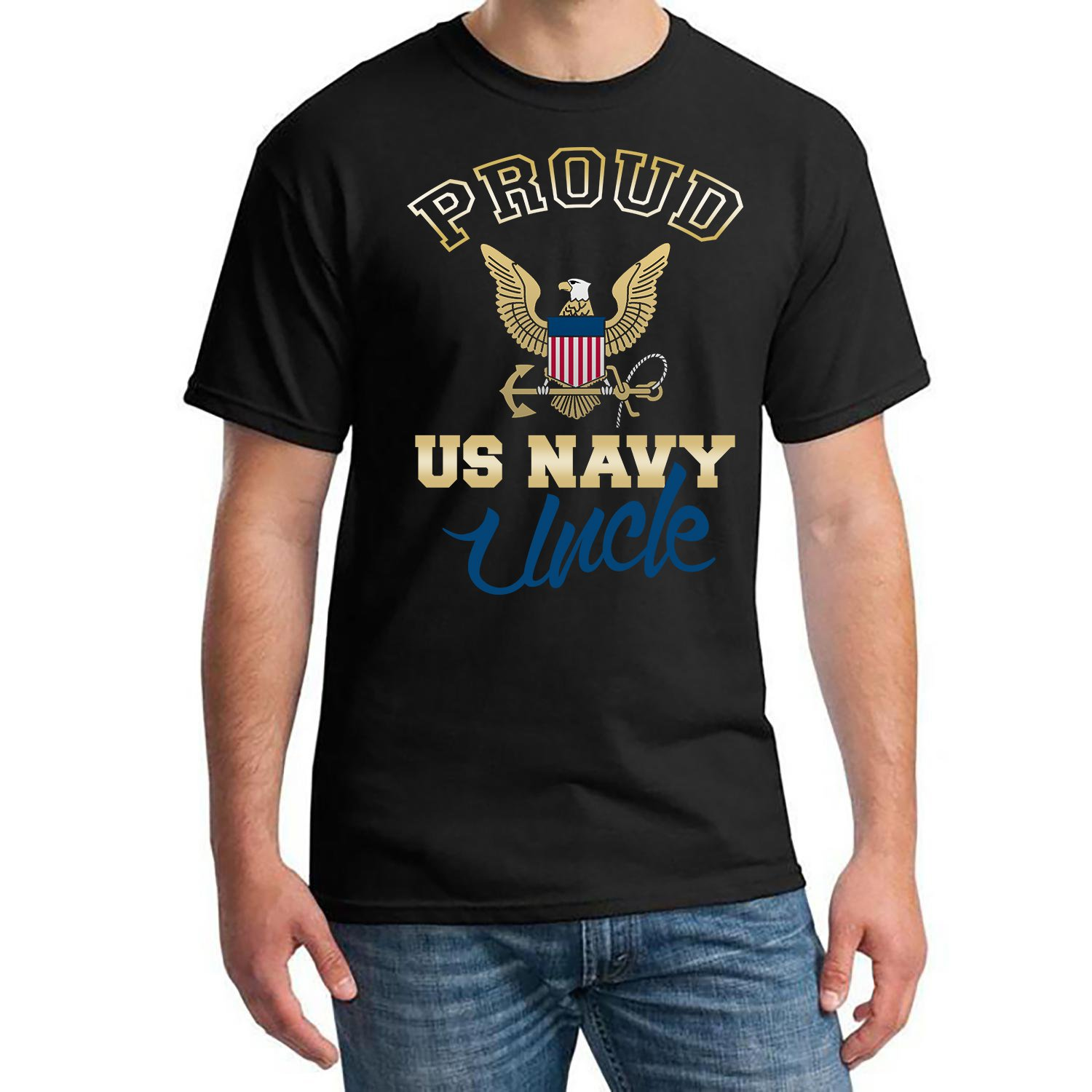 US Navy Uncle, Proud Us Navy UncleShirt