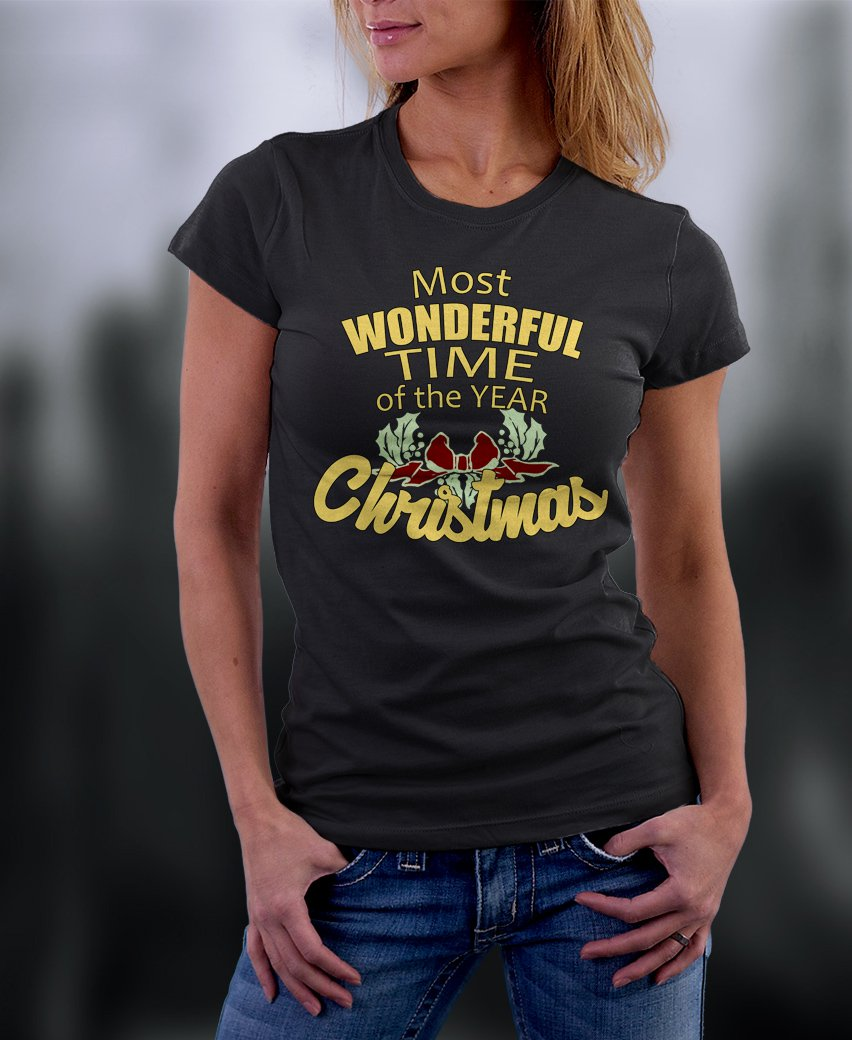 Christmas Shirt, Most Wonderful Time Of The Year Christmas Shirt