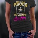 US Army Sister, Proud Us Army Sister Shirt