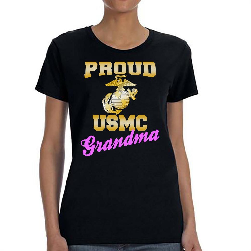 USMC Grandma, Proud USMC Grandma Shirt