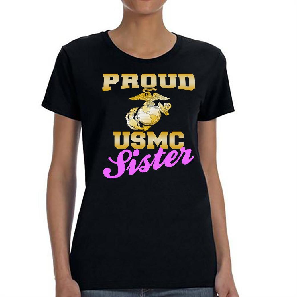 USMC Sister, Proud USMC Sister Shirt