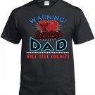 Boxing Dad, Warning Boxing Dad Will Yell Loudly Shirt