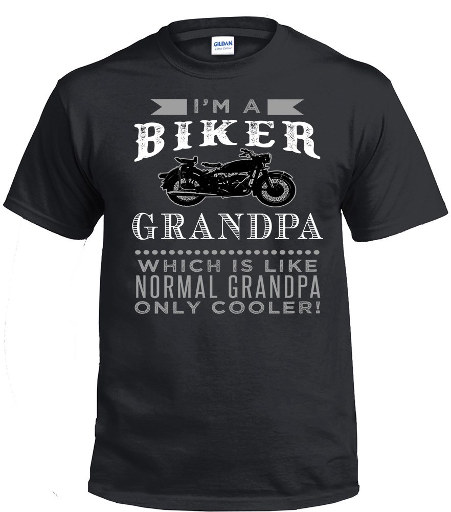 Biker Grandpa,I'm A Biker Grandpa, Which Is Like Normal Grandpa Only Cooler Shirt