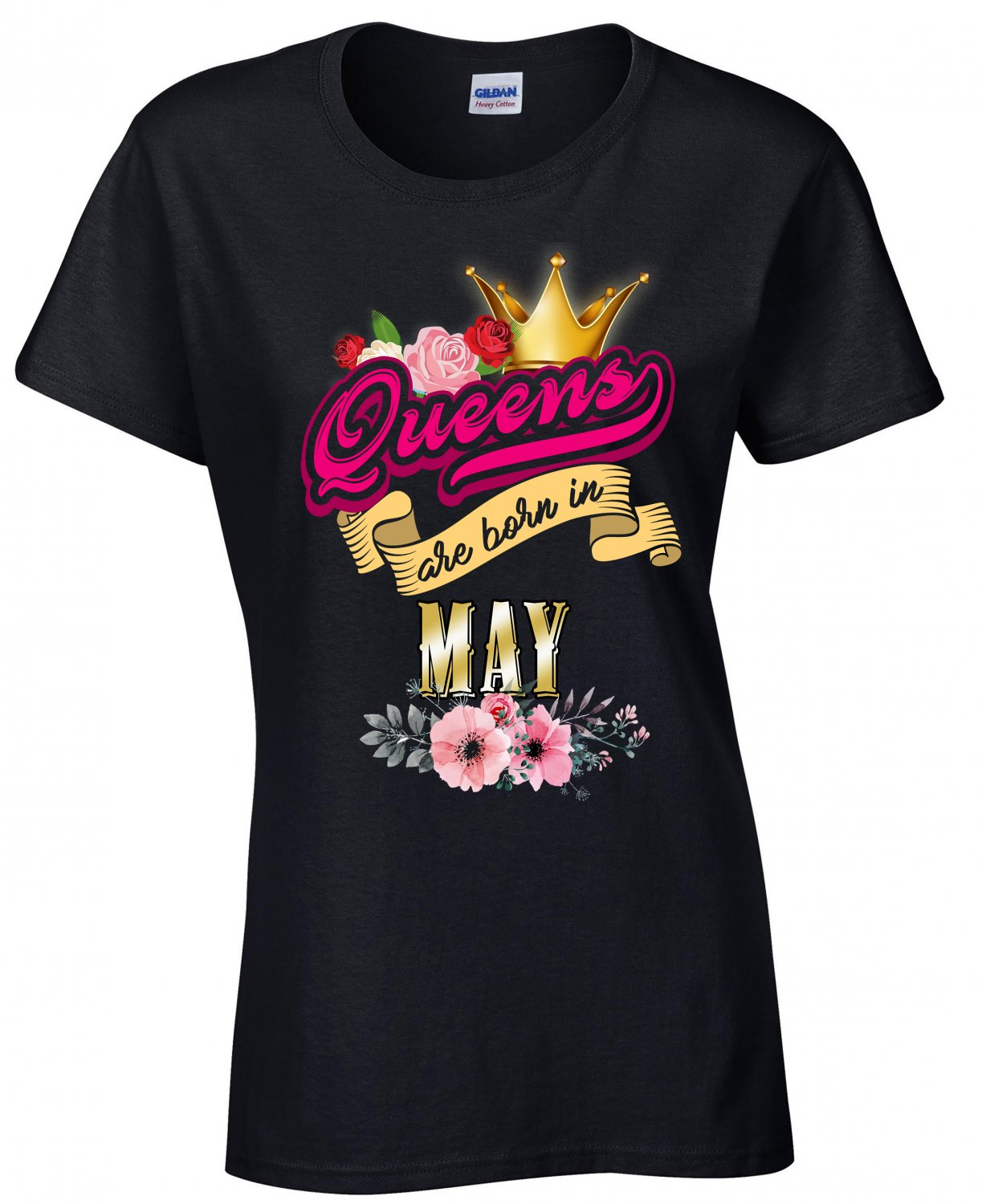 Queens Are Born In May, Queen's Birthday Month, Birthday Shirt