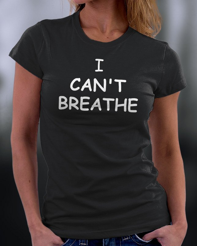 Funny Shirt, I Can't Breathe Drink Shirt