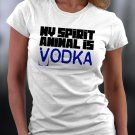 Funny Shirt, My Spirit Animal Is Vodka Shirt