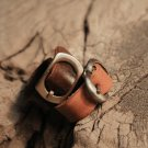Couple Ring, Leather Ring, Matching Couple Ring, Personalized Couple Ring, Custom Ring