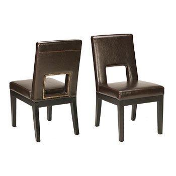 Window Leather Chair
