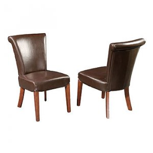 Edie Leather Dining Chair