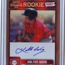 2011 Contenders Rookie Ticket Autograph Kolton Wong