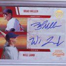 2011 Contenders Winning Combos Autographs Brad Miller/Will Lamb #052/120