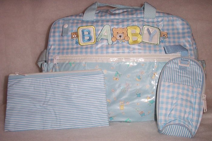 Diaper Bag 3 Pieces - NEW W/FREE SHIPPING