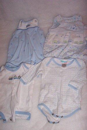 4 Newborn Onesies -  FREE SHIPPING