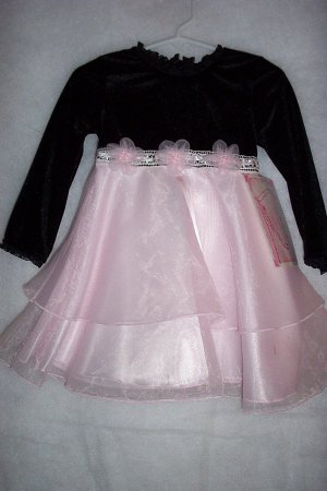 Size 2T Organza Tiered Flower Girl, Pageant, Church Dress-FREE SHIPPING!!!