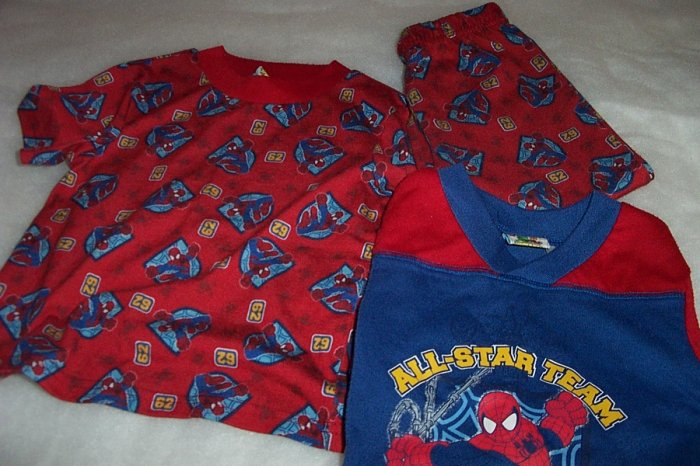 3 Piece Spider Man Pajama Set Size 3T- FREE SHIPPING