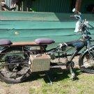 3000 w Black Betty 800 MPGe 72 v 20 ah 45 mph human electric hybrid utility e-bike