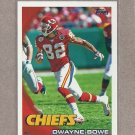 2010 Topps Football Dwayne Bowe Chiefs #31
