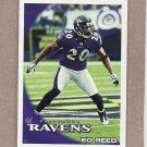 2010 Topps Football Ed Reed Ravens #208