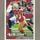 2010 Topps Football Josh Morgan 49ers #274