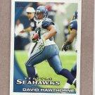 2010 Topps Football David Hawthorne Seahawks #337