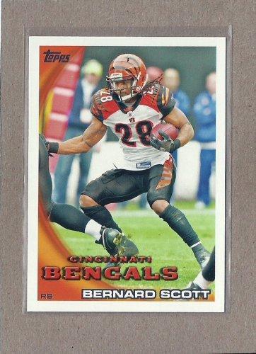2010 Topps Football Bernard Scott Bengals #339
