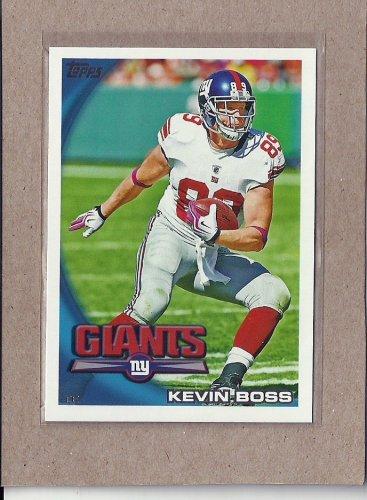 2010 Topps Football Kevin Boss Giants #373