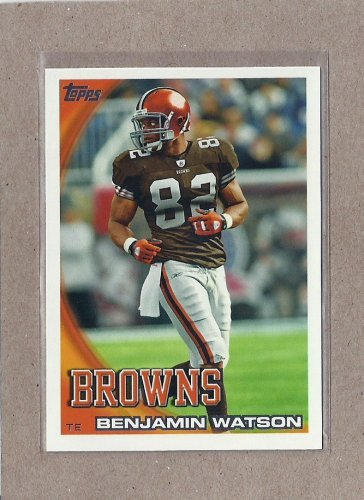 2010 Topps Football Benjamin Watson Browns #389