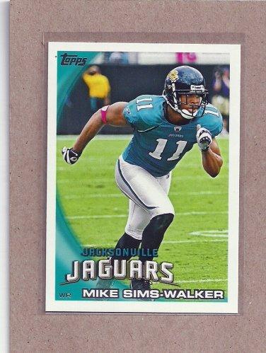 2010 Topps Football Mike Sims-Walker Jaguars #391