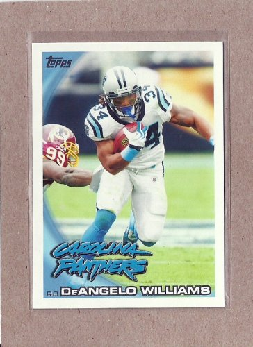 2010 Topps Football DeAngelo Williams Panthers #394