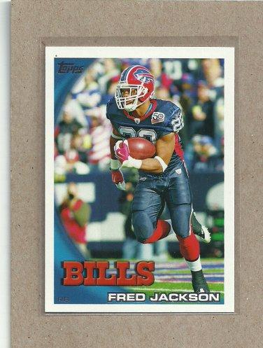 2010 Topps Football Fred Jackson Bills #396