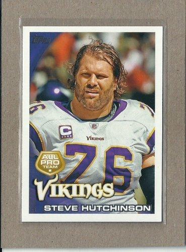 2010 Topps Football All Pro Steve Hutchinson #408