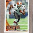 2010 Topps Football Mohamed Massaquoi Browns #427