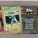 2010 Topps Baseball Million Card Giveaway Gary Carter #TMC-12