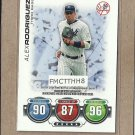 2010 Topps Baseball Attax Alex Rodriguez
