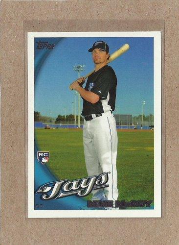 2010 Topps Baseball Mike McCoy RC Blue Jays #482