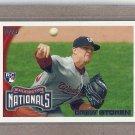 2010 Topps Baseball Drew Storen RC Nationals #US-175