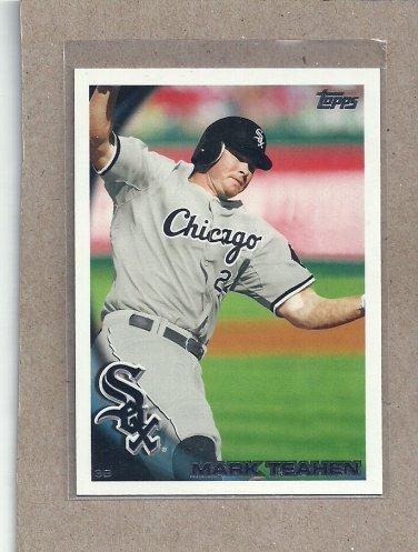 2010 Topps Baseball Mark Teahen White Sox #83
