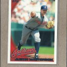 2010 Topps Baseball Justin Masterson Indians #109