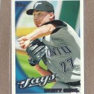 2010 Topps Baseball Brett Cecil Blue Jays #338