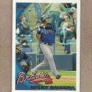 2010 Topps Baseball Melky Cabrera Braves #342