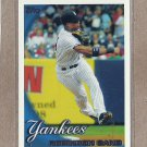 2010 Topps Baseball Robinson Cano Yankees #370