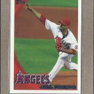 2010 Topps Baseball Joel Pineiro Angels #388