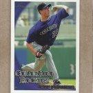 2010 Topps Baseball Jeff Francis Rockies #406