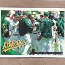 2010 Topps Baseball A's Team Card #410