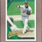 2010 Topps Baseball Vin Mazzaro A's #422