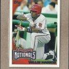 2010 Topps Baseball Willie Harris Nationals #440