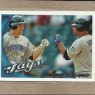 2010 Topps Baseball Blue Jays Team Card #472