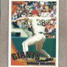 2010 Topps Baseball Brian Wilson Giants #492