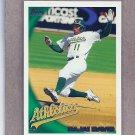 2010 Topps Baseball Rajai Davis A's #496